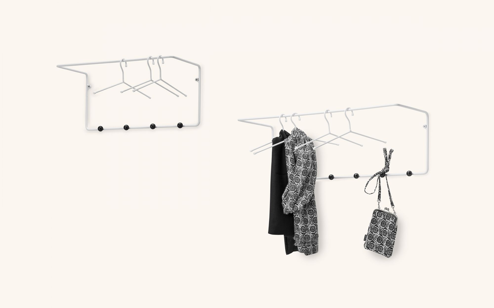 Mixrack coatrack - M L white