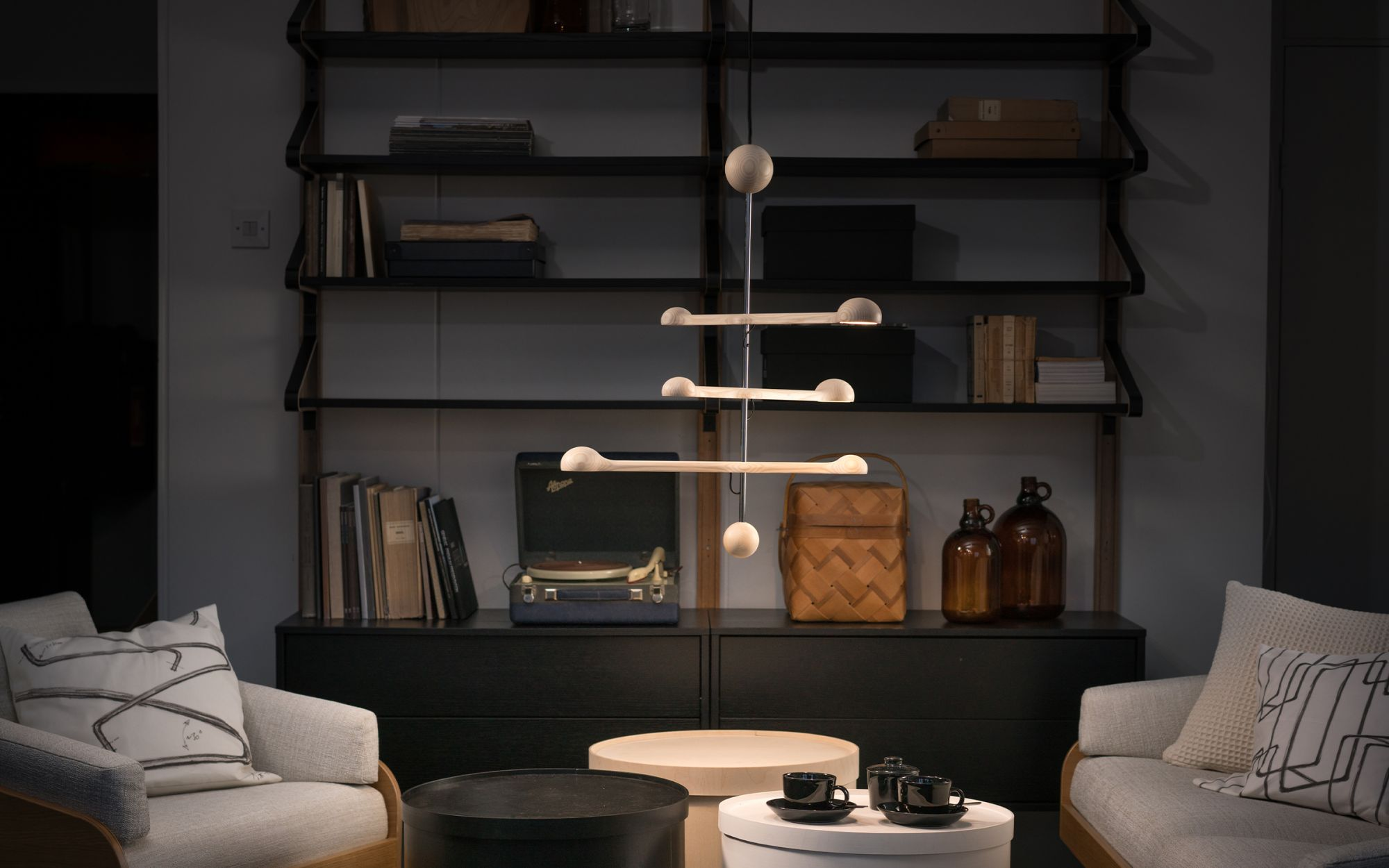 Lighting with Punnus pendant light