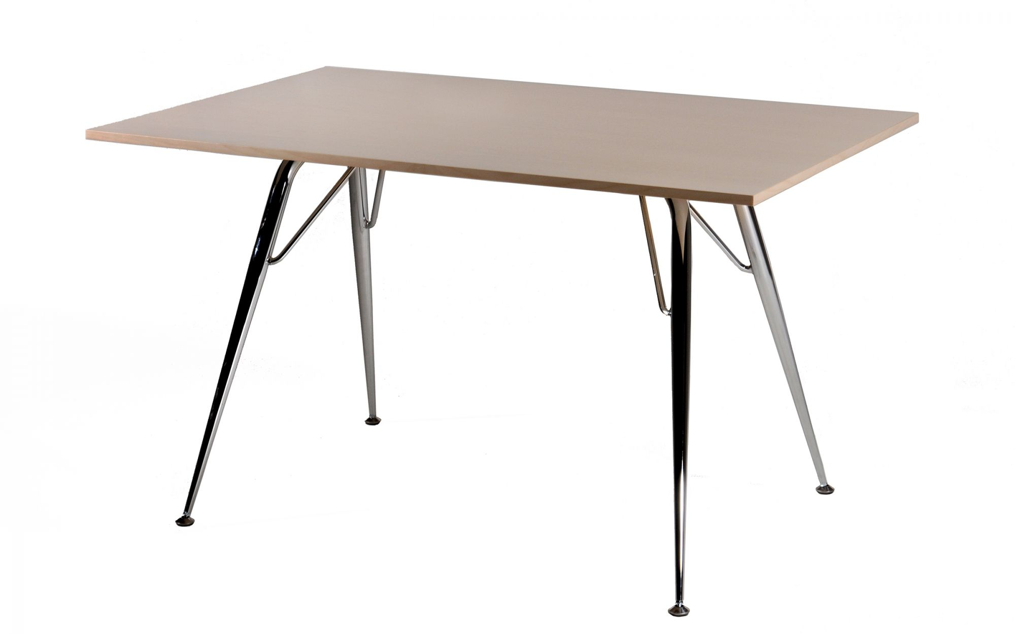 Table-Focus-table-wood-birch-metal-chrome