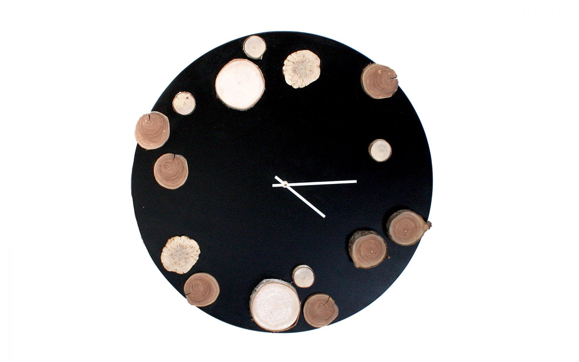 WallClock-Ajaton-unique-wood-handcraft